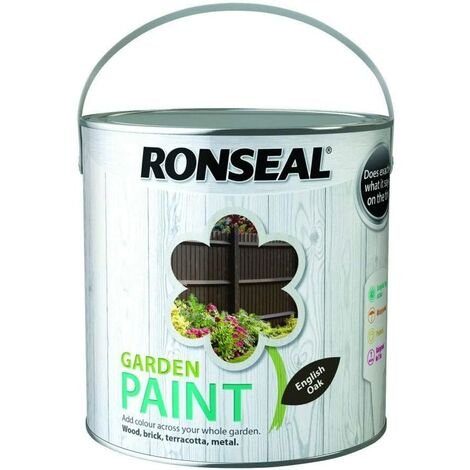 "main image of ""Ronseal Garden Paint English Oak 2.5L"""