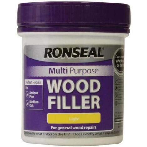 Ronseal Multi-Purpose Wood Filler - Light 250g