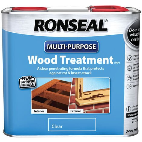 Ronseal Multi Purpose Wood Treatment - Rot and Insect Protection - 2.5L and 5L