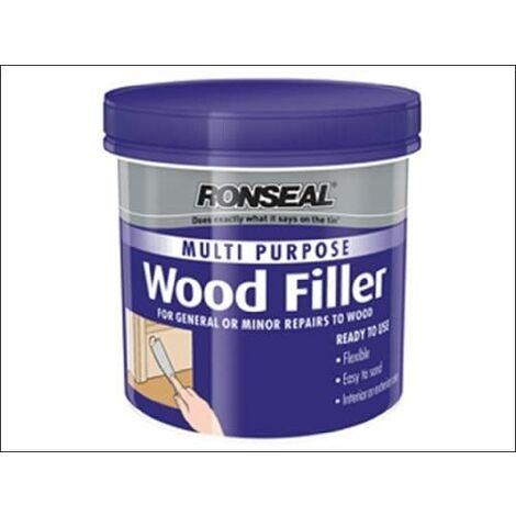 Ronseal Multipurpose Wood Filler Tub - Dark - 250g