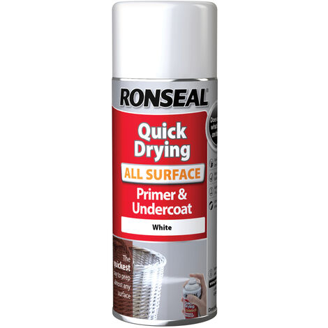 Ronseal One Coat All Surface Primer and Undercoat - White - All Sizes