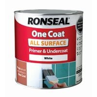 Ronseal One Coat All Surface Primer & Undercoat White 2.5L