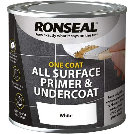 Ronseal One Coat All Surface White Primer & Undercoat 2.5L