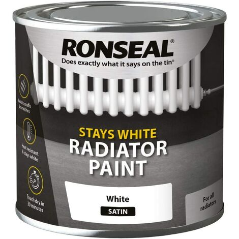 Ronseal One Coat Radiator Paint Satin 250ml