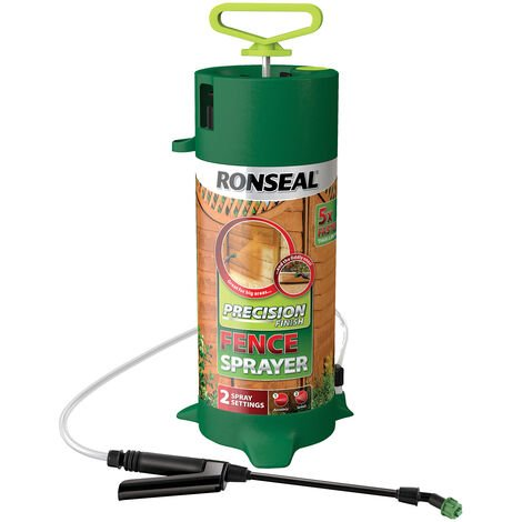 Ronseal Precision Finish Pump Fence Sprayer - Green