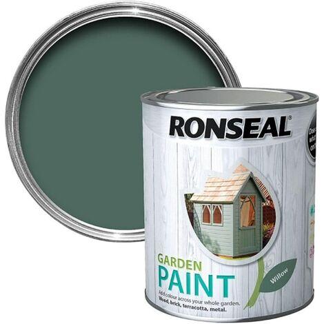 Ronseal RSLGPW250 GPW250 Garden Paint Willow 250ml, 250 ml
