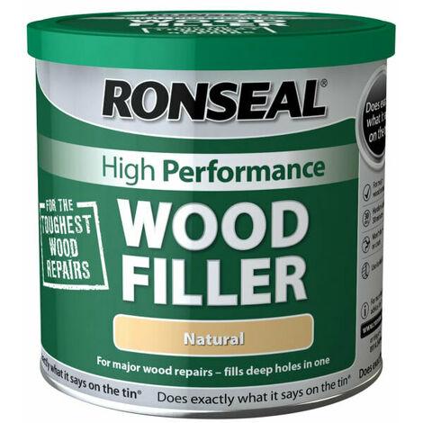 Ronseal RSLHPWFN550G High-Performance Wood Filler Natural 550g
