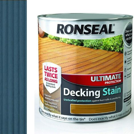Ronseal RSLUDSS25L 2.5L Ultimate Protection Decking Stain - Slate
