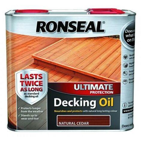 Ronseal Ultimate Decking Oil - Cedar - 2.5L