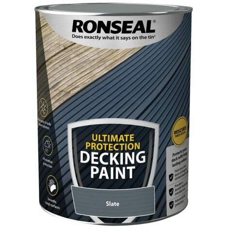 """main image of """"Ronseal Ultimate Protection Decking Paint Slate 5 litre"""""""