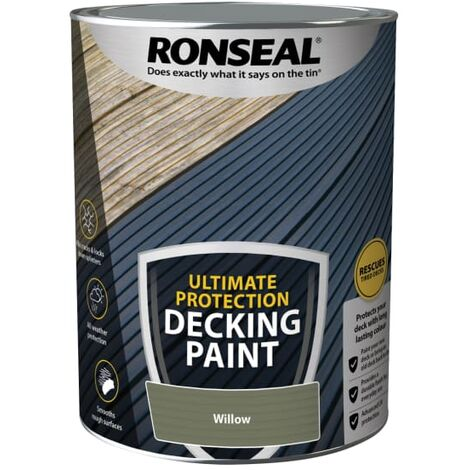 Ronseal Ultimate Protection Decking Paint Willow 5 litre