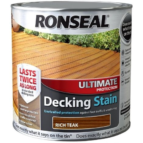 """main image of """"Ronseal Ultimate Protection Decking Stain - Long Lasting Protection"""""""