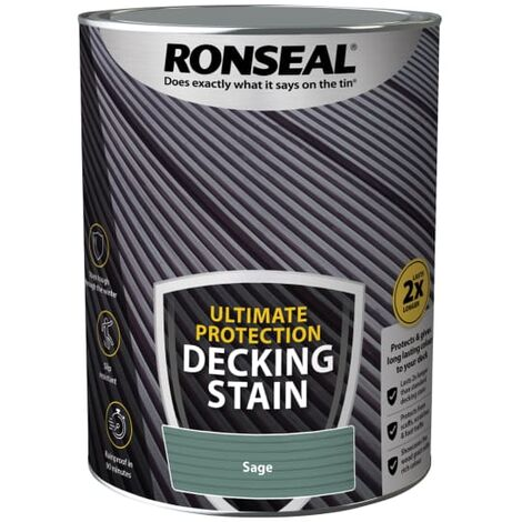 Ronseal Ultimate Protection Decking Stain Sage 5 litre