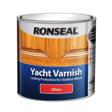 Ronseal Yacht Varnish Gloss Clear 250ml