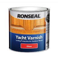 Ronseal Yacht Varnish Gloss Clear 250ml