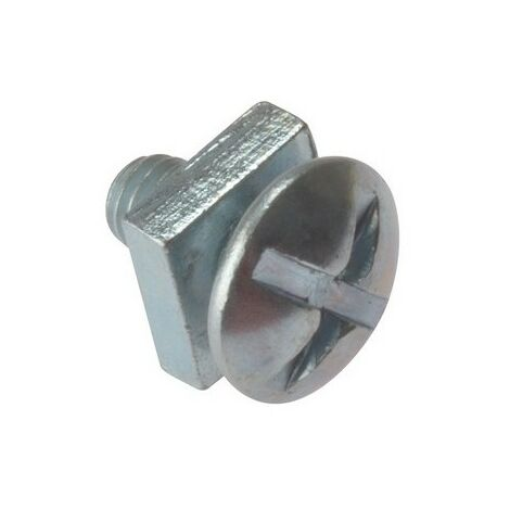 Square Nuts Pack of 100 x M6 x 120mm Roofing Bolts