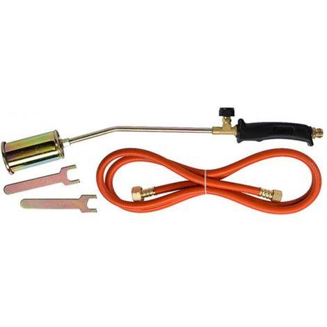 Roofing gas burner, single hose, 250 mm lance
