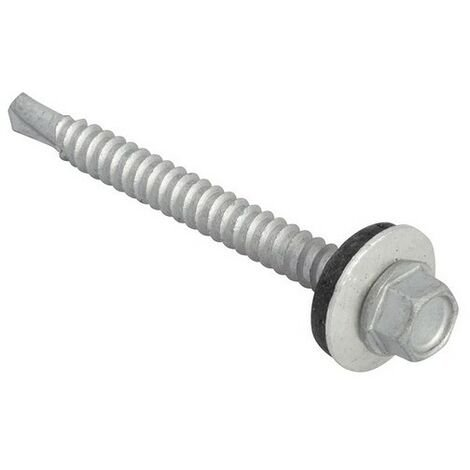 Roofing Screws, Hex, Self-Drill, Light