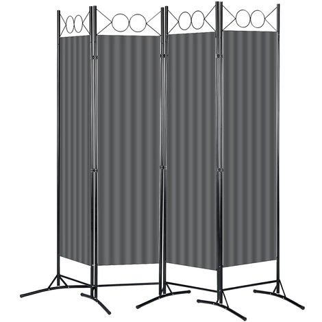"main image of ""Room Divider 4-Panel Folding 160x180cm"""