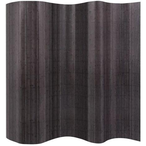 Room Divider Bamboo Grey 250x165 cm