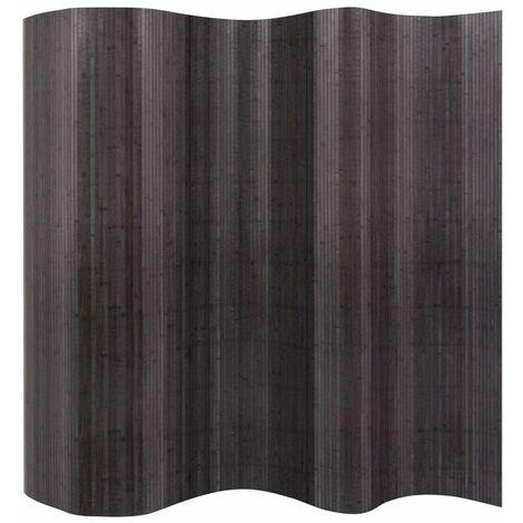 Room Divider Bamboo Grey 250x195 cm