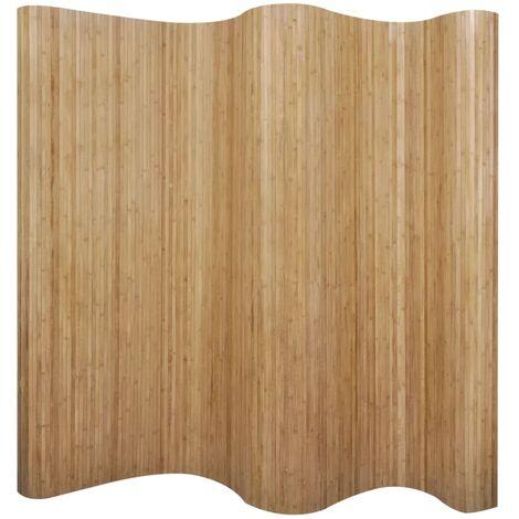 Room Divider Bamboo Natural 250x165 cm