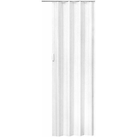 Room divider interior folding door - room divider screen, folding screen, folding door - white - weiß