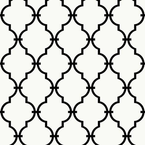 RoomMates Papel de pared adhesivo de enrejado moderno blanco RMK9018WP - Blanco