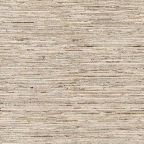 RoomMates Papel de pared adhesivo grasscloth beige RMK9031WP - Beige