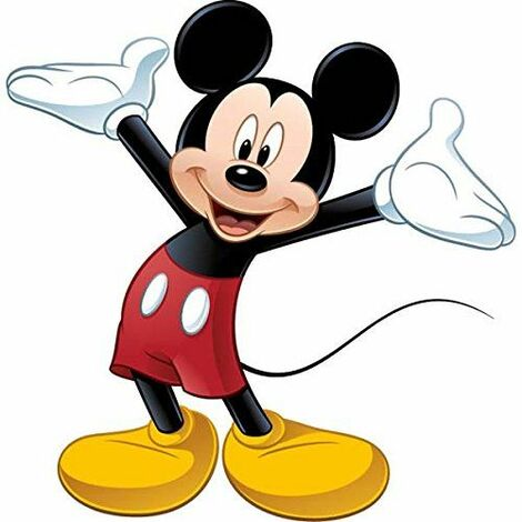 RoomMates Peel & Stick Giant Wall Decal - Mickey Mouse