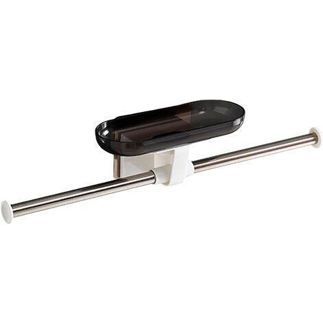 Ropa Barra de tubo montado en la pared del estante Ropa Armario Organizador ropa exhibe la suspension de ropa del estante del sostenedor de acero inoxidable de almacenamiento Percha