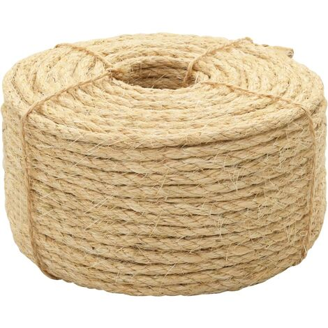 Rope 100% Sisal 10 mm 50 m