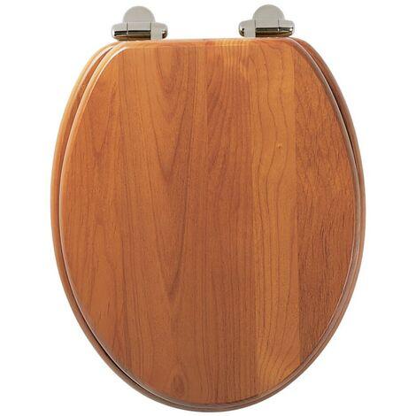 Roper Rhodes Antique Pine Wooden Soft Close Toilet Seat Top Fix Quick Release