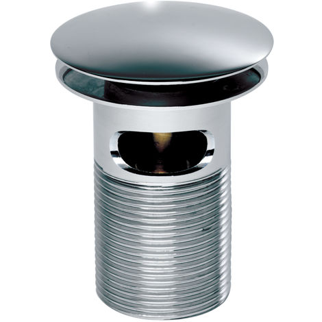 Roper Rhodes Dome Top Spring Waste Slotted 75Mm Thread Chrome