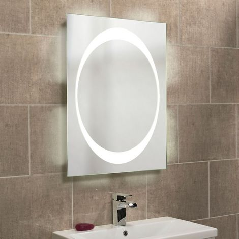 Roper Rhodes Equator Backlit Mirror with Ambi Lighting 800mm x 600mm