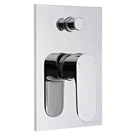 Roper Rhodes Image Manual Shower Valve With Diverter Chrome 192mm x 132mm