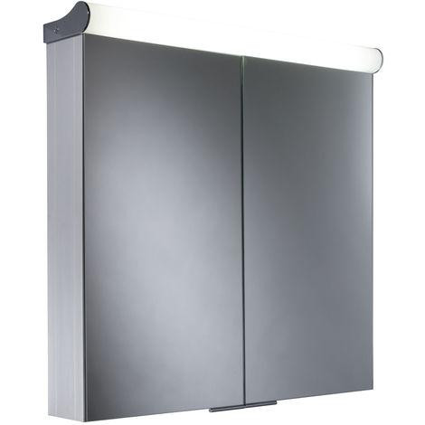 Roper Rhodes Latitude Double Door Lit Aluminium Cabinet