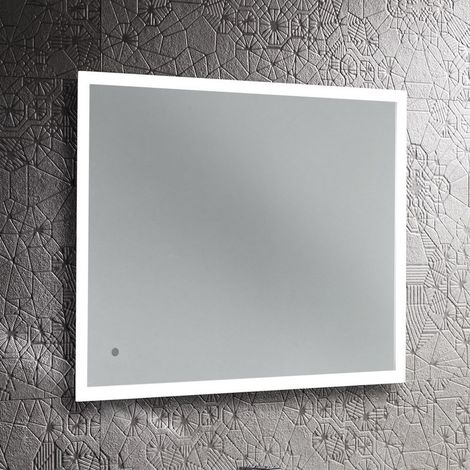 Roper Rhodes Leap Led Shaver Socket Illuminated Mirror 800mm x 600mm