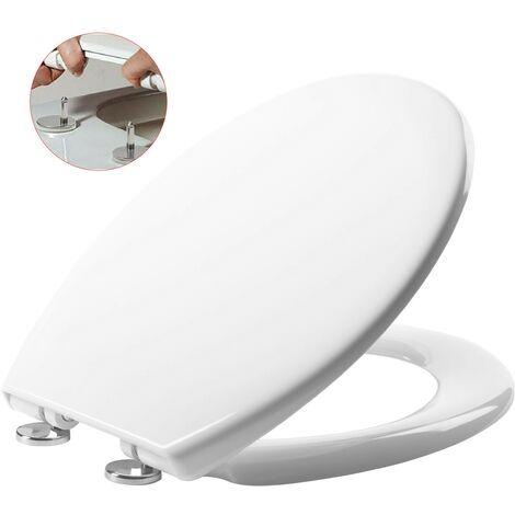 Roper Rhodes Neutron Soft Close Toilet Seat - Top Fix Quick Release Easy Clean