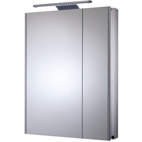 Roper Rhodes Refine Slimline Double Door Cabinet with Electrics 700mm x 615mm