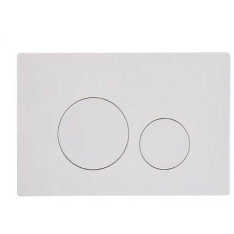 Roper Rhodes Rondo Dual Flush Plate Button White For TR9001 TR9002 TR9009