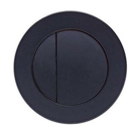 "main image of ""Roper Rhodes Round Dual Flush Plate Button Matt Black For TR9001 TR9002 TR9009"""