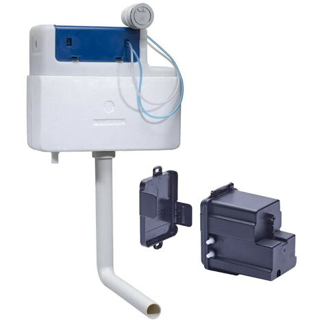 Roper Rhodes Torrent Concealed Dual Flush WC Toilet Cistern Back To Wall+ Sensor