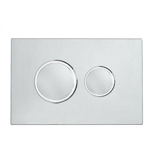 Roper Rhodes Traditional Dual Flush Plate Button Chrome For TR9001 TR9002 TR9009