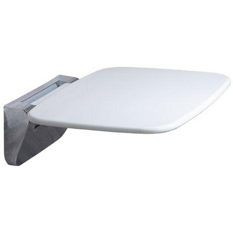 Roper Rhodes White & Chrome Thermoset Shower Seat