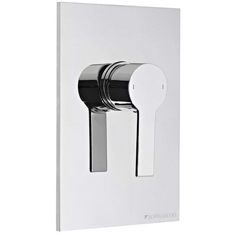 Roper Rhodes Zeal Manual Shower Valve Chrome 192mm x 132mm
