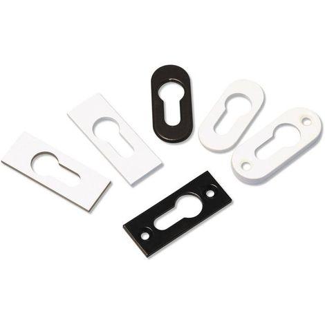Rosace adhésive clé i GOETTGENS Alu blanc - 3 mm - D4015BLANC