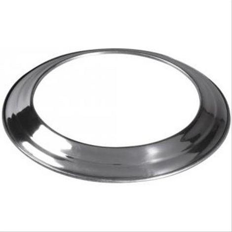 Rosace aluminium pour gaine accordéon TEN Diam140/146mm