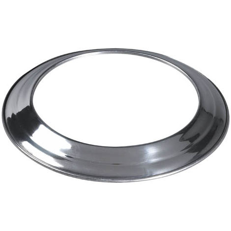 Rosace aluminium pour gaine flexible O80-86