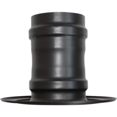 Rosace avec manchon noir - Ø 80